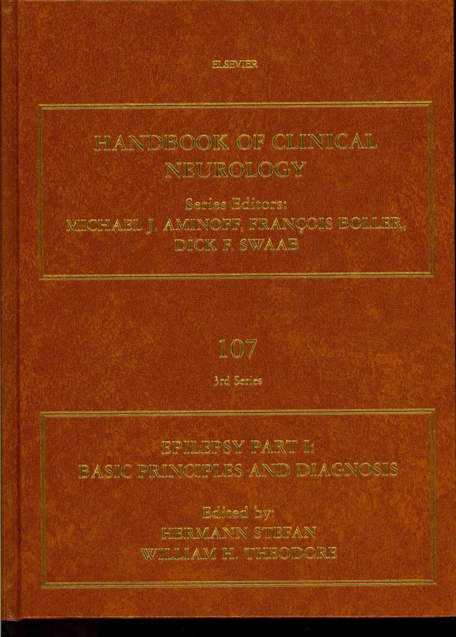 Epilepsy Part I By Stefan, Hermann (EDT)/ Theodore, William H. (EDT)