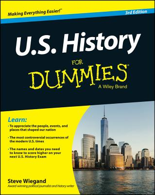U.s. History for Dummies By Consumer Dummies (COR)